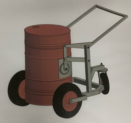 205L Drum Trolley