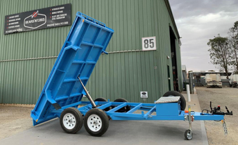 Twin Axle Tipping Trailer